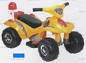 Электроквадроцикл «Полиция», синий, 889