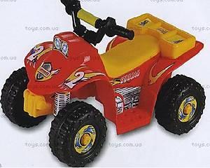 Электроквадроцикл Rally, красный, HJ003-RED