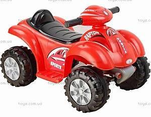 Электроквадроцикл Sports, красный, CH9910 КР