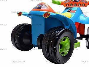Электроквадроцикл Turbo, синий, SC-892-BLUE, магазин игрушек