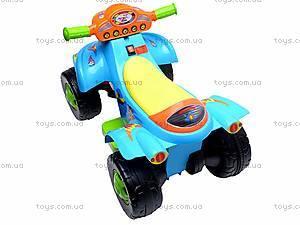 Электроквадроцикл Turbo, синий, SC-892-BLUE, toys.com.ua