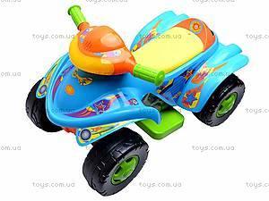 Электроквадроцикл Turbo, синий, SC-892-BLUE, toys