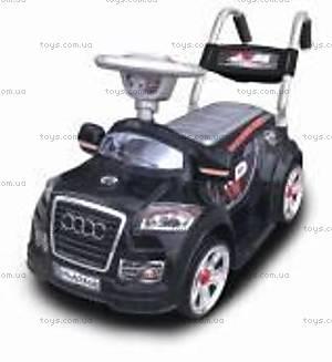 Электромобиль Audi, черный, 595 ЧЕР