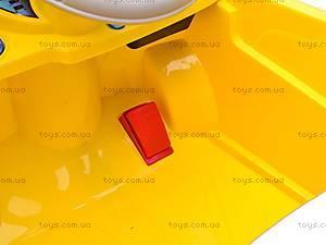 Электромобиль «AUDI» желтый, C-012, фото