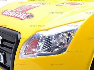 Электромобиль «AUDI» желтый, C-012, магазин игрушек
