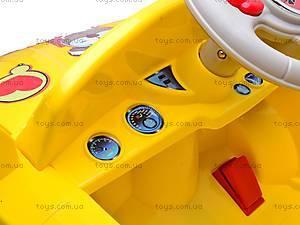 Электромобиль «AUDI» желтый, C-012, toys.com.ua