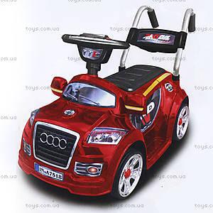 Электромобиль Audi, красный, 594 КР