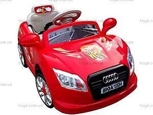Электромобиль «AUDI» красный, C-012