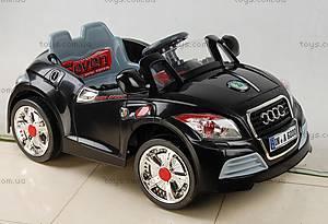 Электромобиль Audi TT, черный, 587 ЧЕР
