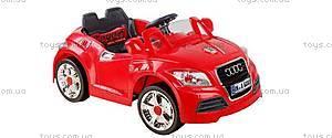 Электромобиль Audi TT, красный, 588 КР