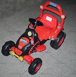 Электромобиль «Болид», красный, BS003