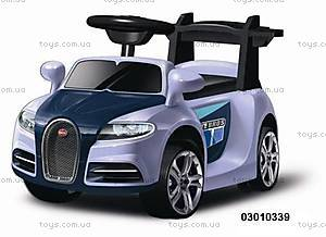 Электромобиль Bugatti голубой, 03010339