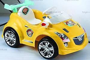 Электромобиль Cats желтый, 03010121