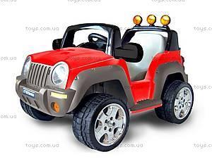 Электромобиль детский «Джип», красный, T-335R