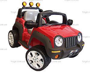 Электромобиль детский «Джип», красный, T-335R, фото