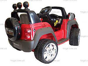 Электромобиль детский «Джип», красный, T-335R, отзывы