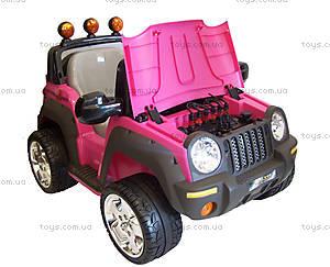 Электромобиль детский «Джип», розовый, , купить