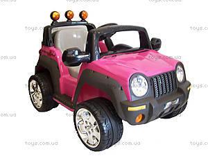 Электромобиль детский «Джип», розовый, , отзывы