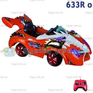 Электромобиль «Джекки» оранжевый, 633R