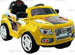 Электромобиль-джип AUDI, желтый с р/у, J-003