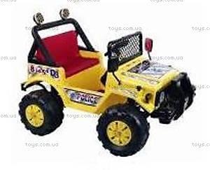 Электромобиль «Джип» желтый, 572