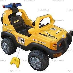 Электромобиль «Джип», желтый, FB958 ЖЕЛ