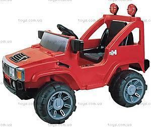 Электромобиль «Джип», красный, A30 КР