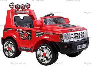 Электромобиль «Джип», красный с р/у, YJ139B R/C RE