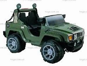 Электромобиль-джип с пультом радиоуправления, J-010