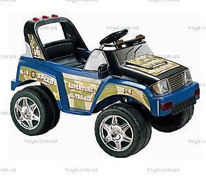Электромобиль «Джип», синий, S628D7-R СИН