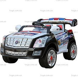 Электромобиль «Джип», Super Police, JE010 ЧЕР