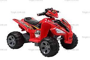 Электромобиль для детей, красный, YJ007C RED