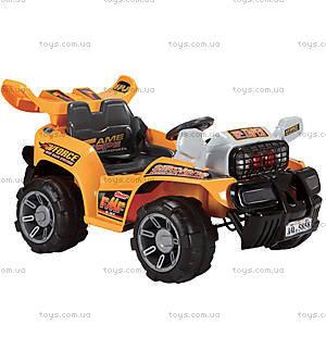 Электромобиль Force, желтый, JJ013