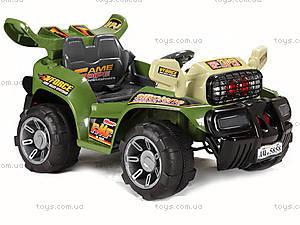 Электромобиль Force, зеленый, JJ013 ЗЕЛ