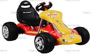 Электромобиль Go Kart, красный, 6628-001-RED