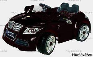 Электромобиль «Гонки», черный с р/у, YJ128B-BLACK