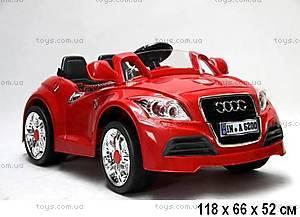 Электромобиль «Гонки», красный с р/у, YJ128A-RED