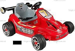 Электромобиль «Гоночный», красный цвет, YJ135-RED