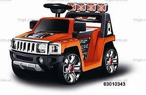 Электромобиль Hummer оранжевый, 03010343