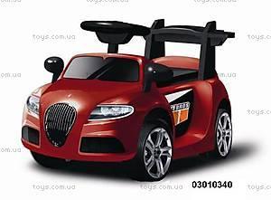Электромобиль Jaguar красный, 03010340