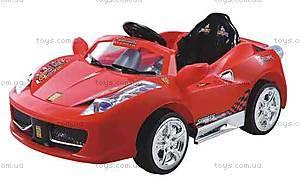 Электромобиль «Кабриолет» с MP3, на р/у, 5888 R/C RED
