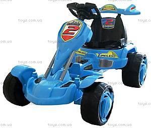 Электромобиль Kart racing, синий, FS799-BLUE