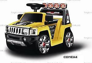 Электромобиль «Хаммер», желтый, 03010344 ЖЕЛ