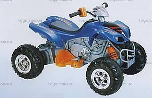 Электромобиль-квадроцикл, синий, KL789-BLUE