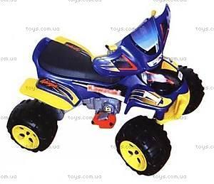 Электромобиль «Квадроцикл», синий, YQ505-BLUE