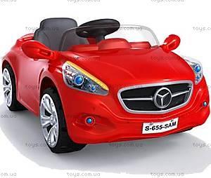 Электромобиль «Мерседес», красный, CH9928 КР