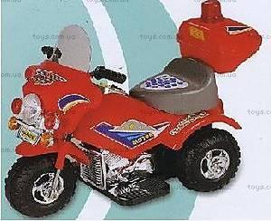 Электромобиль «Мотоцикл полицейского», ZP-9886 RED