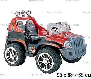 Электромобиль «Полицейский джип», красный, ZP5199-RED