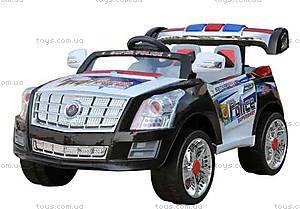 Электромобиль «Полиция», радиоуправляемый, YJ010 R/C BLA