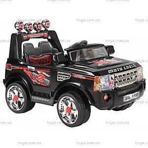 Детский электромобиль «Джип Ровер», на радиоуправлении, U-017, купить